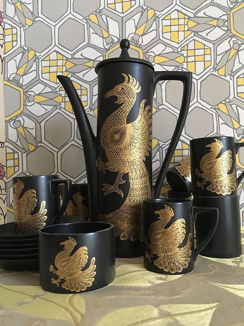 Port Meirion 'Phoenix' Coffee Set
