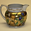 Thumbnail: Hand Painted Jug with Blue Rim Detail and Damsons