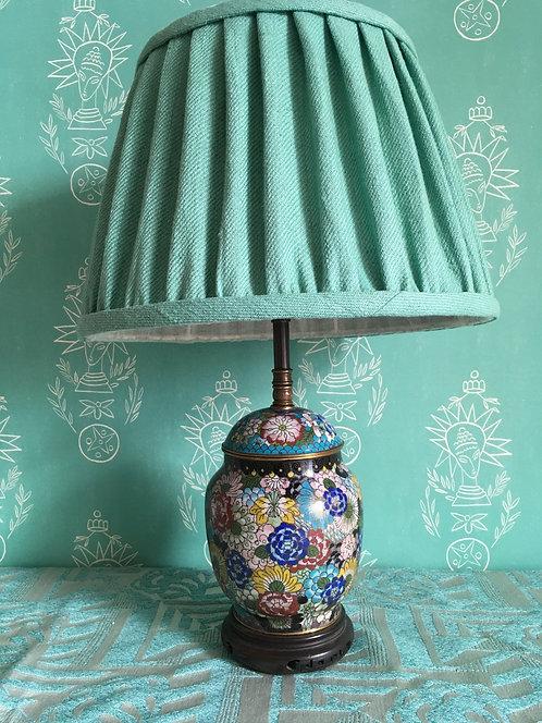 Vintage Small Oriental Lamp