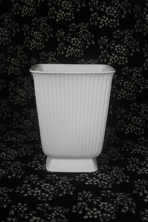 Wedgwood of Barlaston & Etruria Square Ribbed Vase