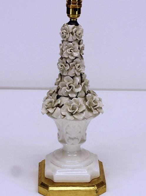 'Casa Pupo' Style Columnar Ceramic Table Lamp