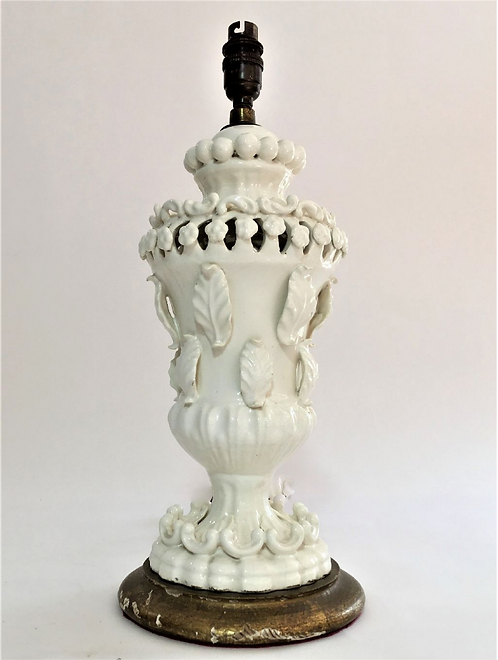 'Casa Pupo' Style Urn Shaped Ceramic Table Lamp