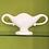 Thumbnail: Constance Spry White Classic Design Mantle Vase