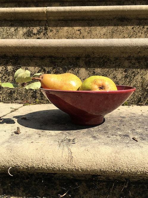 Mercury Small Red Bowl