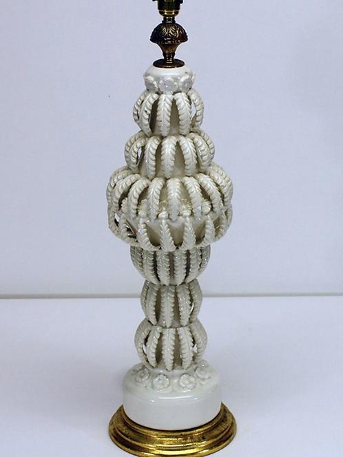 'Casa Pupo' Columnar Ceramic Table Lamp