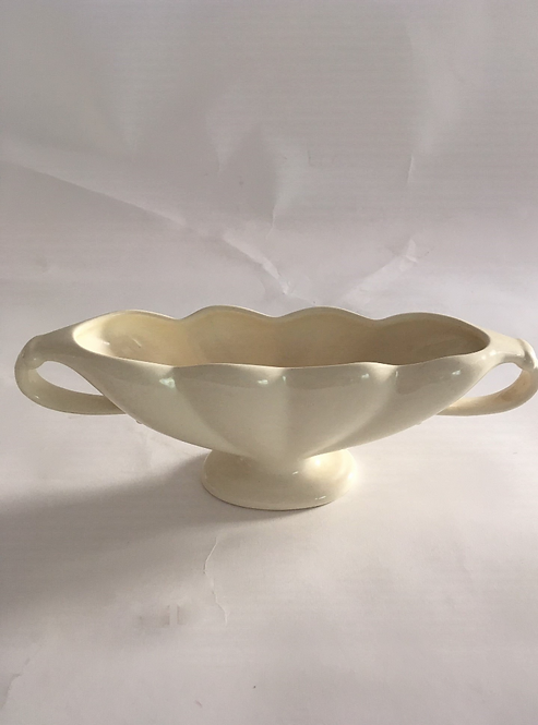 Small Classic Shaped Constance Spry Scallop Mantle Vase