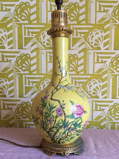 Parisian Chinoiserie Lamp
