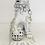 Thumbnail: White Ceramic 'Foo' Dog Table Lamp