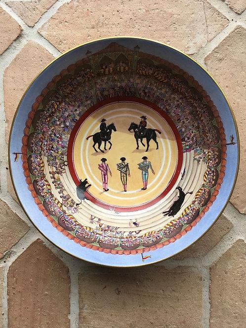 Hand Painted Matador Bowl - SOLD
