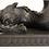 Thumbnail: Pair of Black Basalt Wedgwood Dolphin Candlesticks