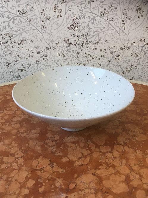 Medium Mercury Bowl Grey Speckled 23.5cm