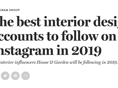 House and Garden Instagram Accounts to Follow