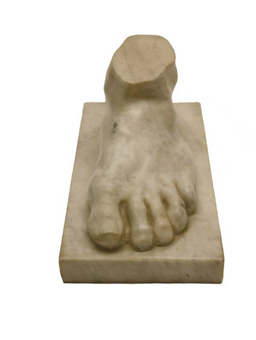 Sculpted Marble Foot by Graham Heeley