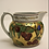 Thumbnail: Hand Painted Jug with red rim detail and cherries