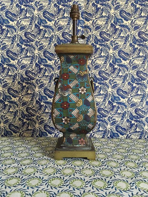 Enamelled Eastern Lamp