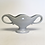 Thumbnail: Constance Spry Classic Light Grey Small Mantle Vase
