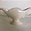Thumbnail: Large Classic White Glazed Constance Spry Mantle Vase
