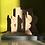 Thumbnail: John Maltby Stoneware Sculpture 'Three Figures on a Wall'