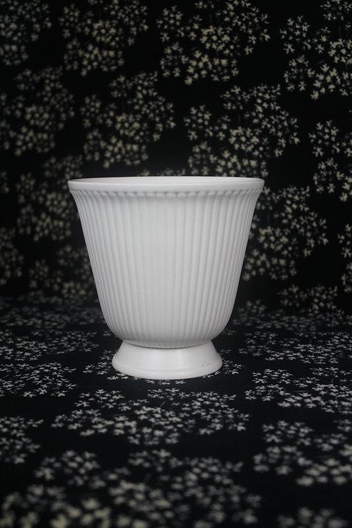 Medium Etruria & Barlaston Wedgwood Ribbed Vase