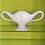 Thumbnail: Constance Spry Large Classic Grey Mantle Vase