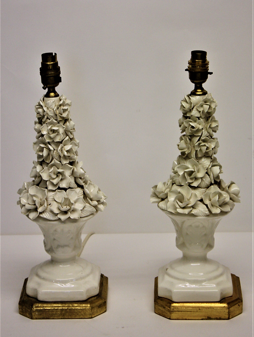 Pair of 'Casa Pupo, Style Floral Lamps