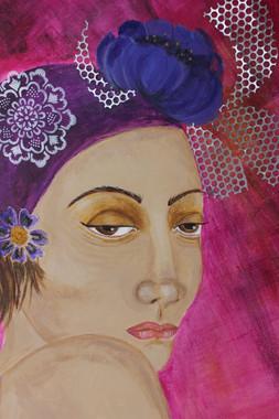 Woman with Blue Flower1.JPG