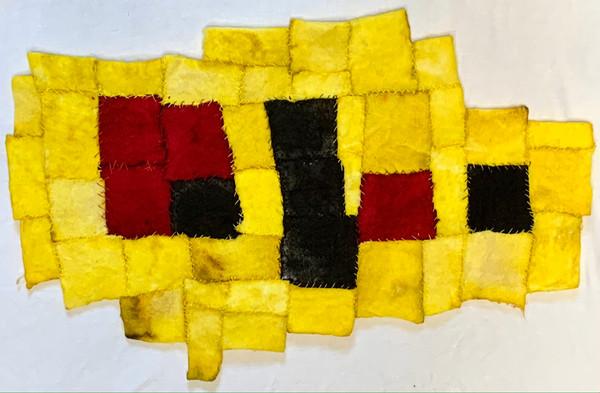 Red, Black, Yellow, White