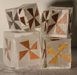 """Little Boxes, 12.5""""x11""""x7"""" 2021"""