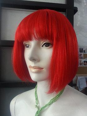 Wig Shoulder Length Red