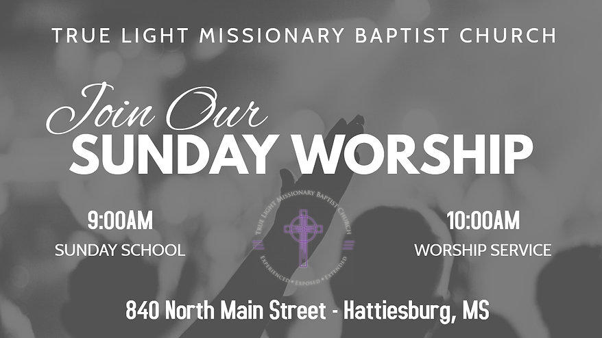 TLMBC Sunday Service - Made with PosterM