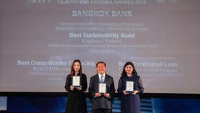 ธนาคารกรุงเทพคว้า 3 รางวัล จากนิตยสาร The Asset ปี 2020