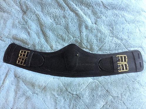 Sangle bavette dressage noire
