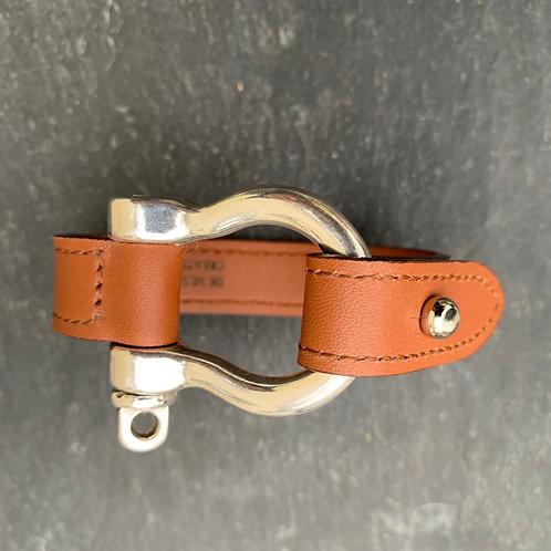 Bracelet Manille cuir