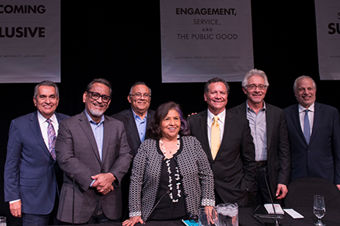 Cal State LA panel brings together pione