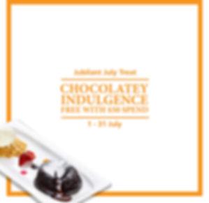 Free Molten Chocolate Lava Cake (Jubilan