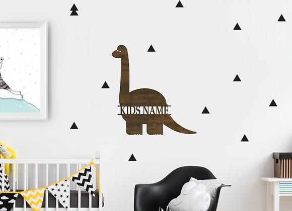 "12"" tall Dyplodocus Dino Monogram"