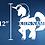 "Thumbnail: 12"" Tall Unicorn"