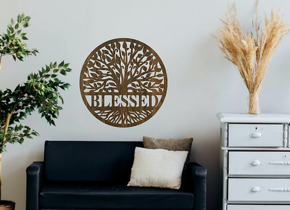 "20"" Round Tree Of Life 