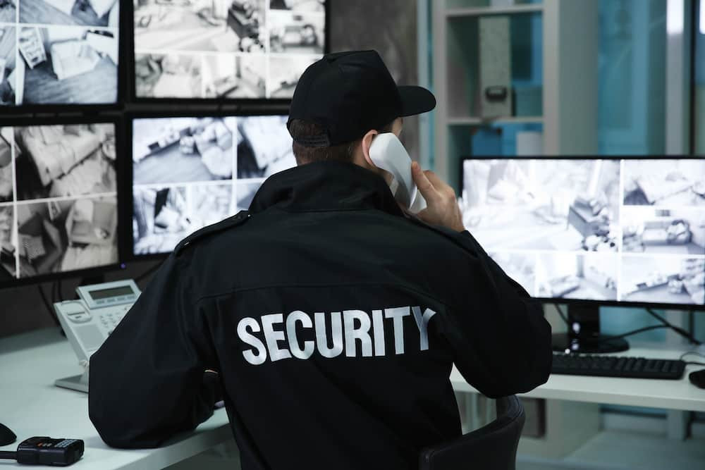 types of security guards
