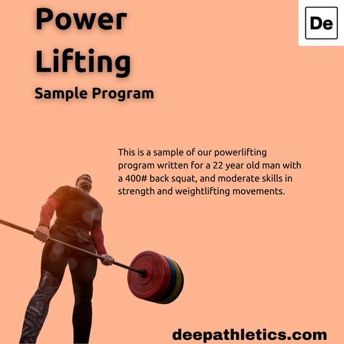 Sample powerlifter