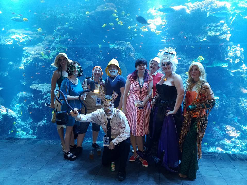 Dragon Con at the Georgia Aquarium