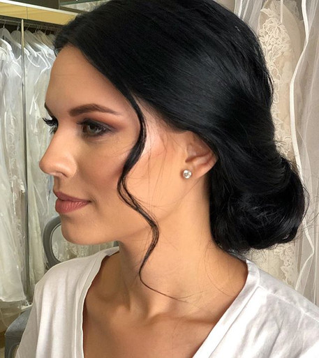 Bridesmaid Makeup & Hairstyling by the S