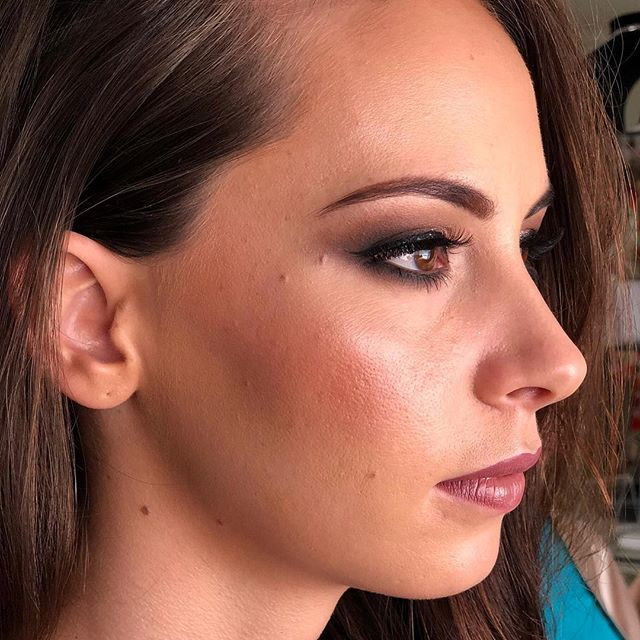 Bridesmaid Makeup by the SLC team for _b
