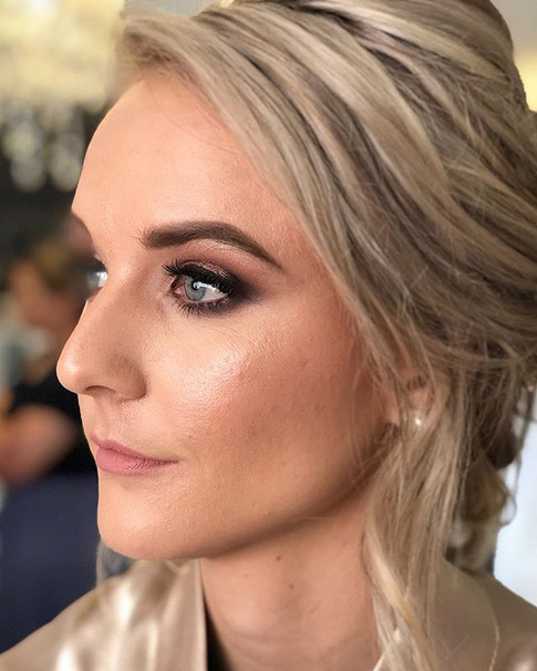 Bridal Makeup by the SLC team for _brida