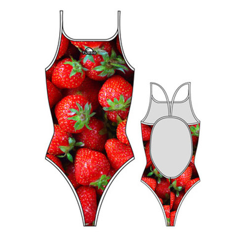 Turbo Swim - Swimsuits Thin Strap - Badeanzug - Strawberry Fruit - 8300682