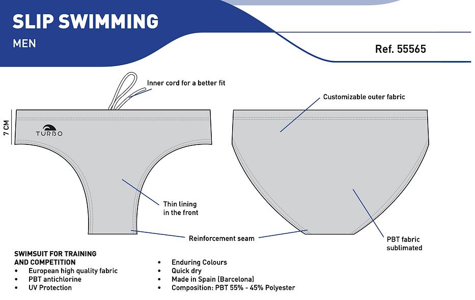 Turbo - Slip Swimming - Men - Swimming Suits