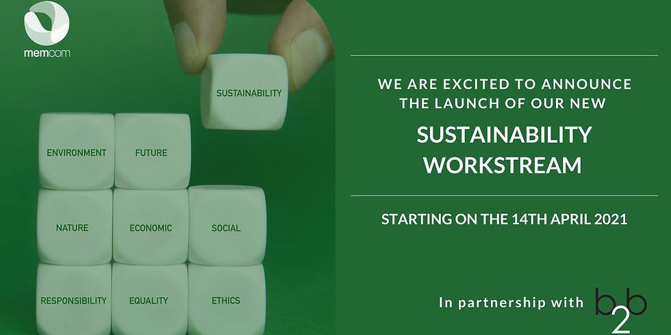 Sustainability Workstream (memcom & b2b)