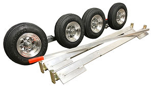 Set of Collins Hi Speed Dollies or Dolly