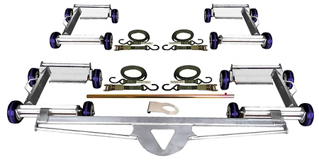 Collins Carrier Dolly Quad Set for 4 wheels