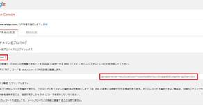 Google Search Consoleでサイトの所有権が確認できない。